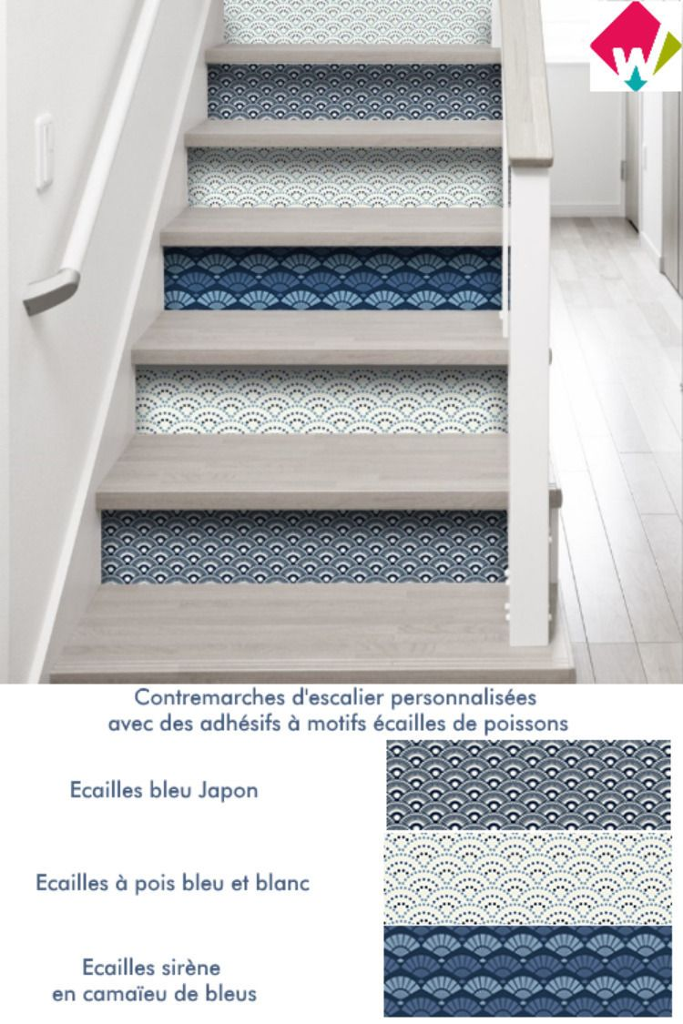 Décoration Marche Escalier Intérieur rénover, décorer, personnaliser son escalier c'est rapide et
