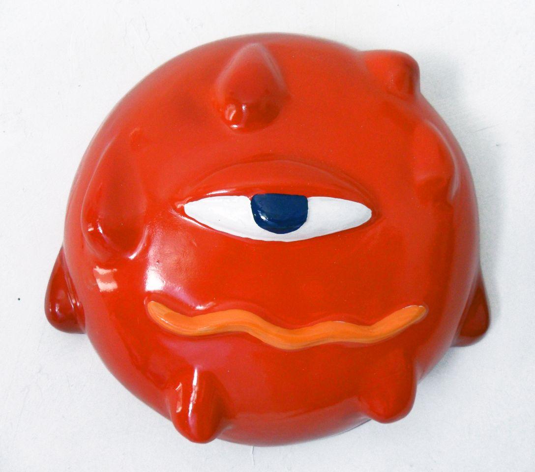 """Gianni Cella, """"Senza titolo"""", 2012, resina sintetica, cm 30x40"""