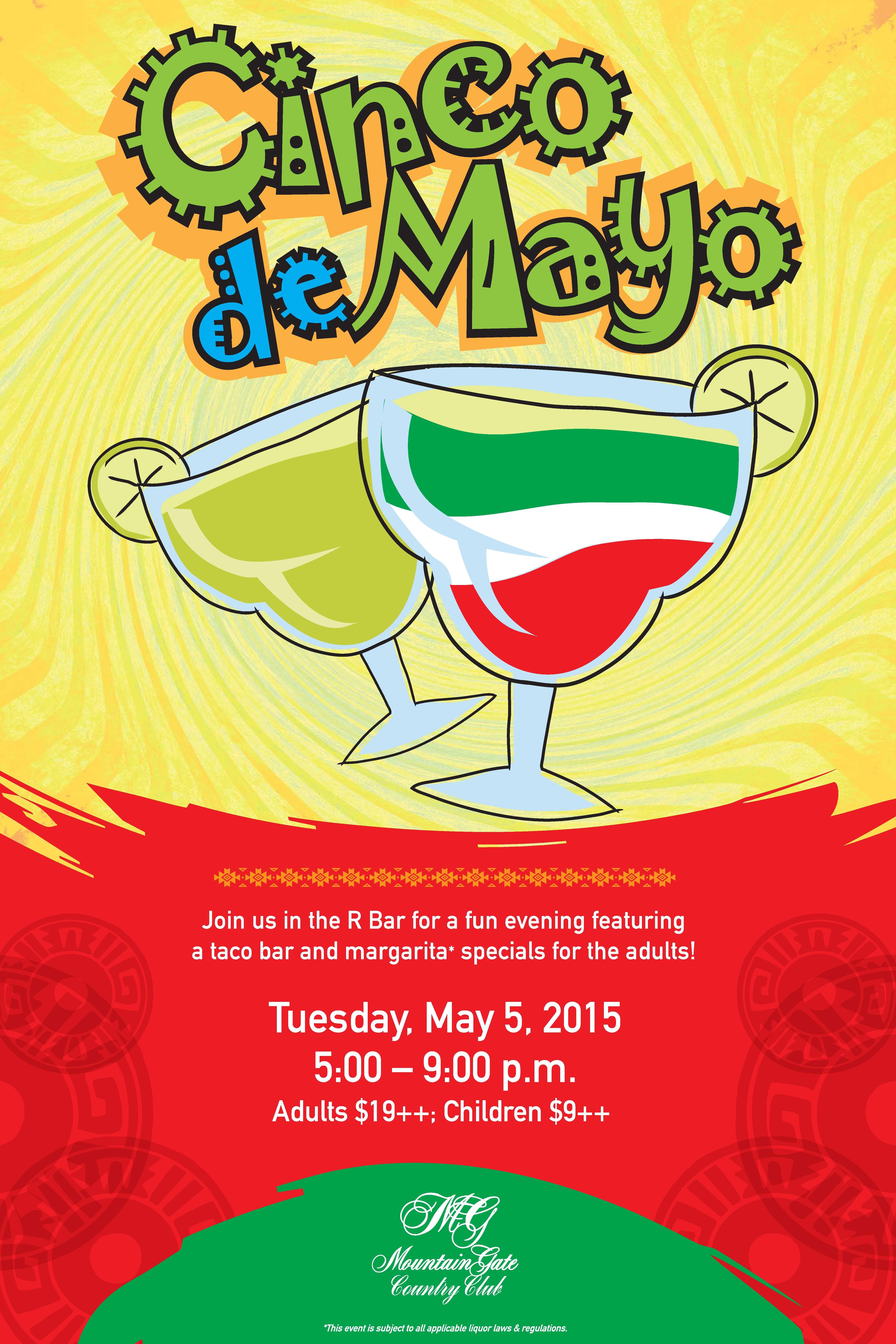 cinco de mayo flyer poster template cinco de mayo mexican theme