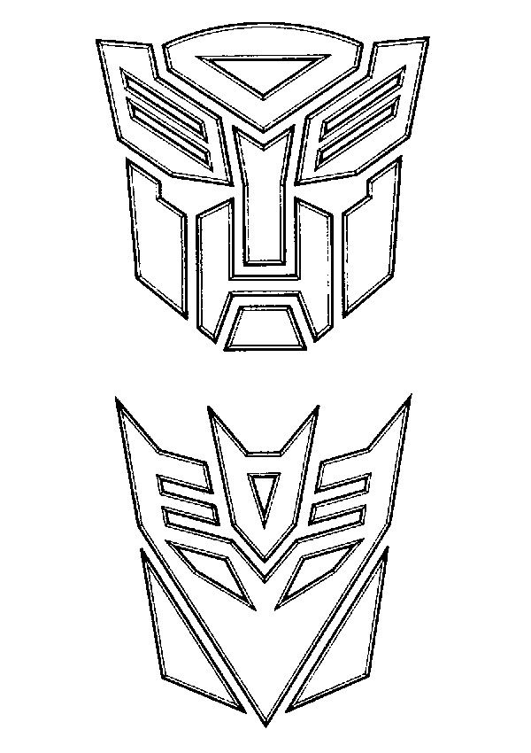 coloring page transformers - transformers | birthdays ... - Optimus Prime Face Coloring Pages