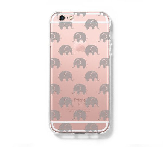 cute little elephant iphone 6s 6 clear case iphone 6 plus cover