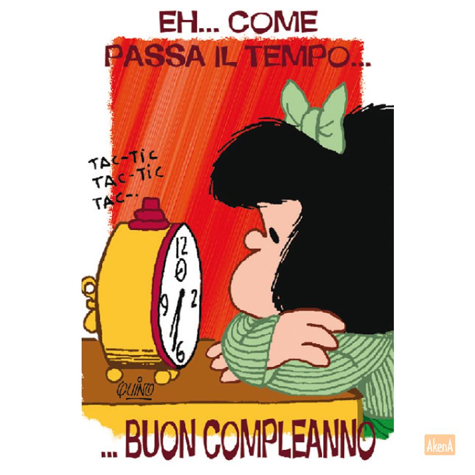 Biglietto Di Compleanno Di Mafalda Buon Compleanno