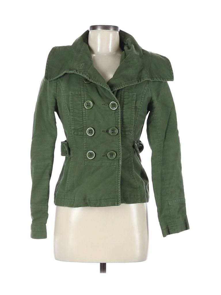 Ambition Jacket Green Solid Jackets Outerwear Size Medium In 2021 Outerwear Jackets Green Jacket Jackets [ 1024 x 768 Pixel ]