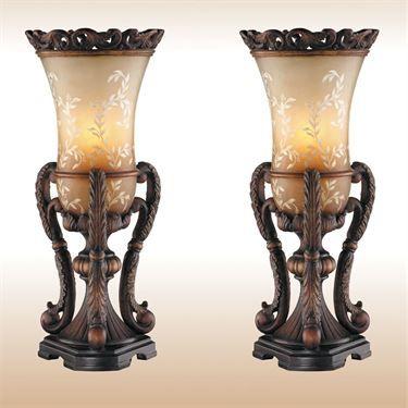 Chitrita uplight table lamp pair tuscany decor formal living chitrita uplight table lamp pair aloadofball Image collections