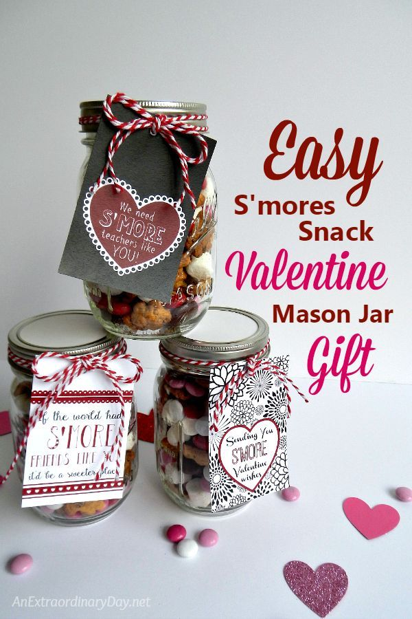 Bless Your Friends And Family With These Sweet And So Easy Su0027mores  Valentineu0027s Day