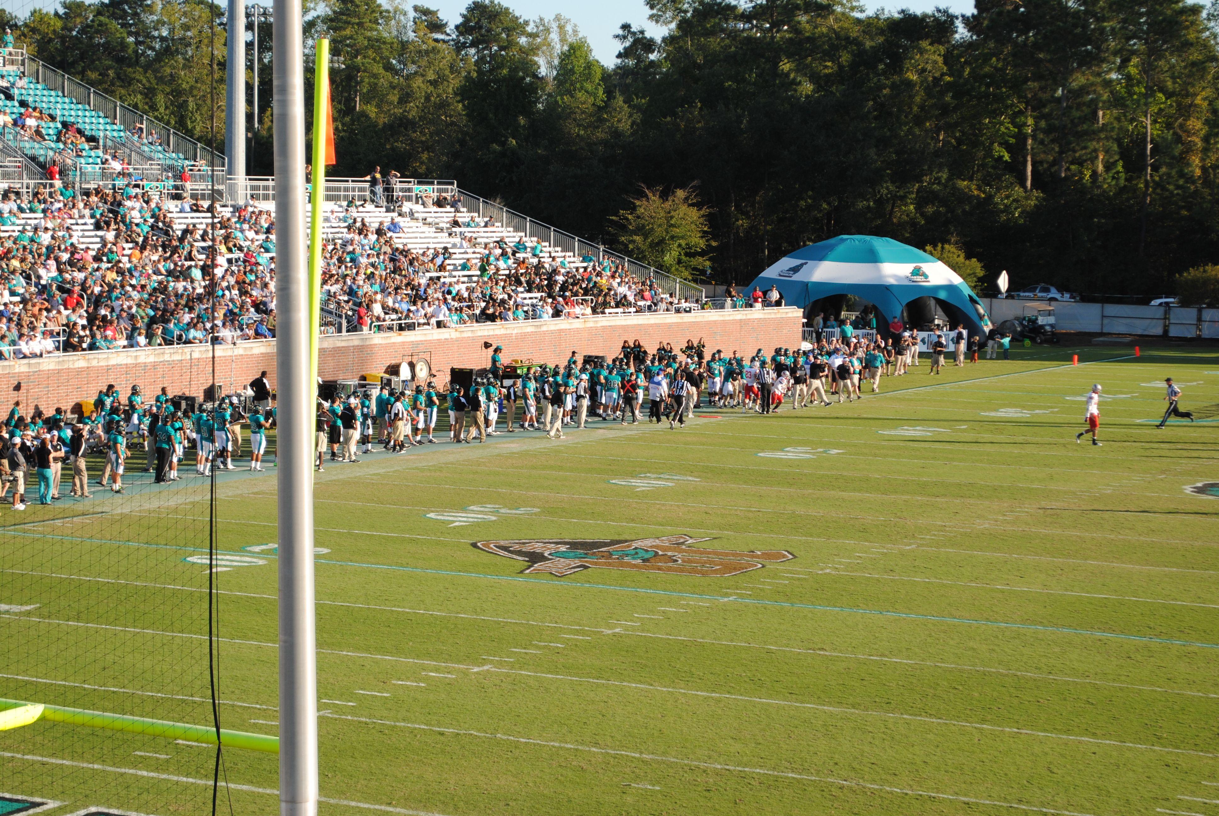 Pin by Coastal Carolina Athletics on Football Soccer
