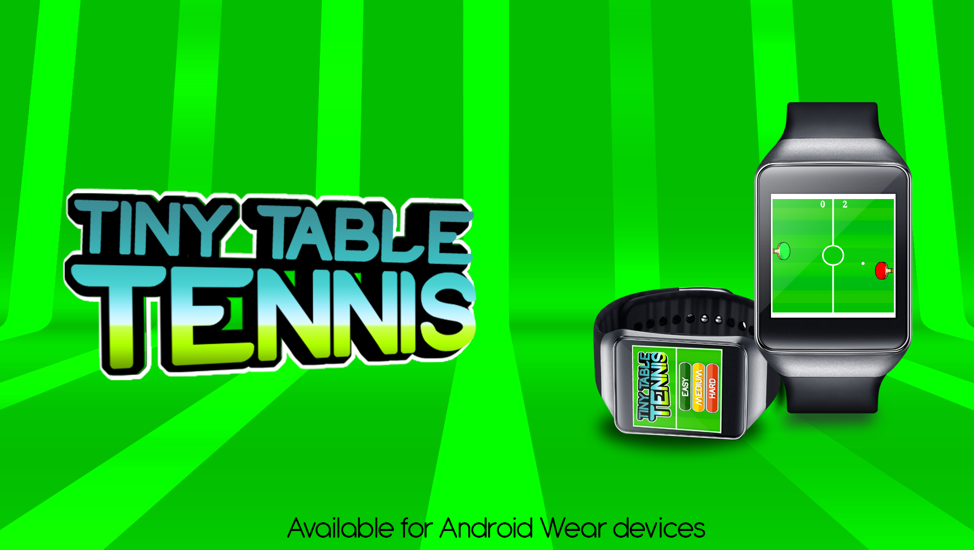 Tiny Table Tennis Top Rated Android Wear Game Table