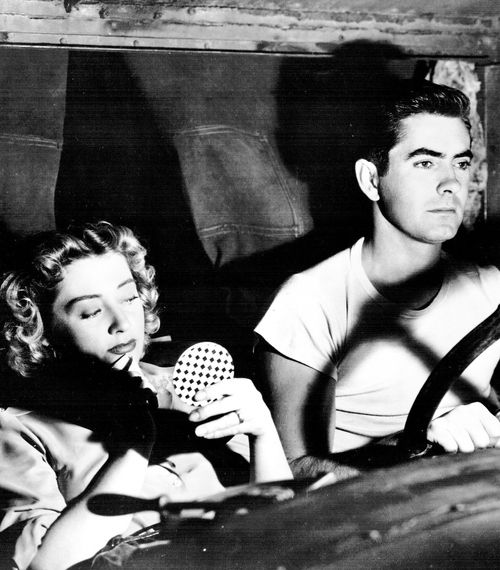 Tyrone Power and Joan Blondell in Nightmare Alley, 1947