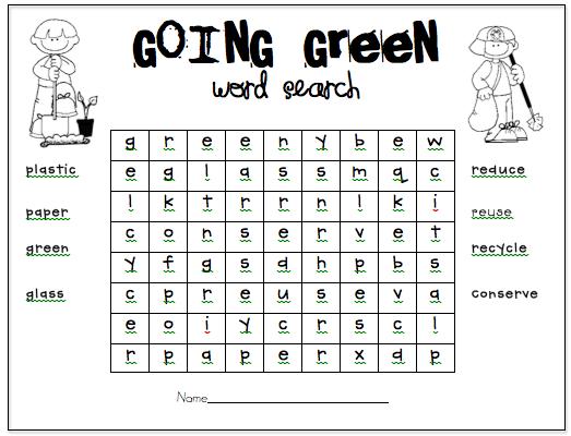 Creative Teaching Press - Reduce, Reuse, Recycle Worksheets