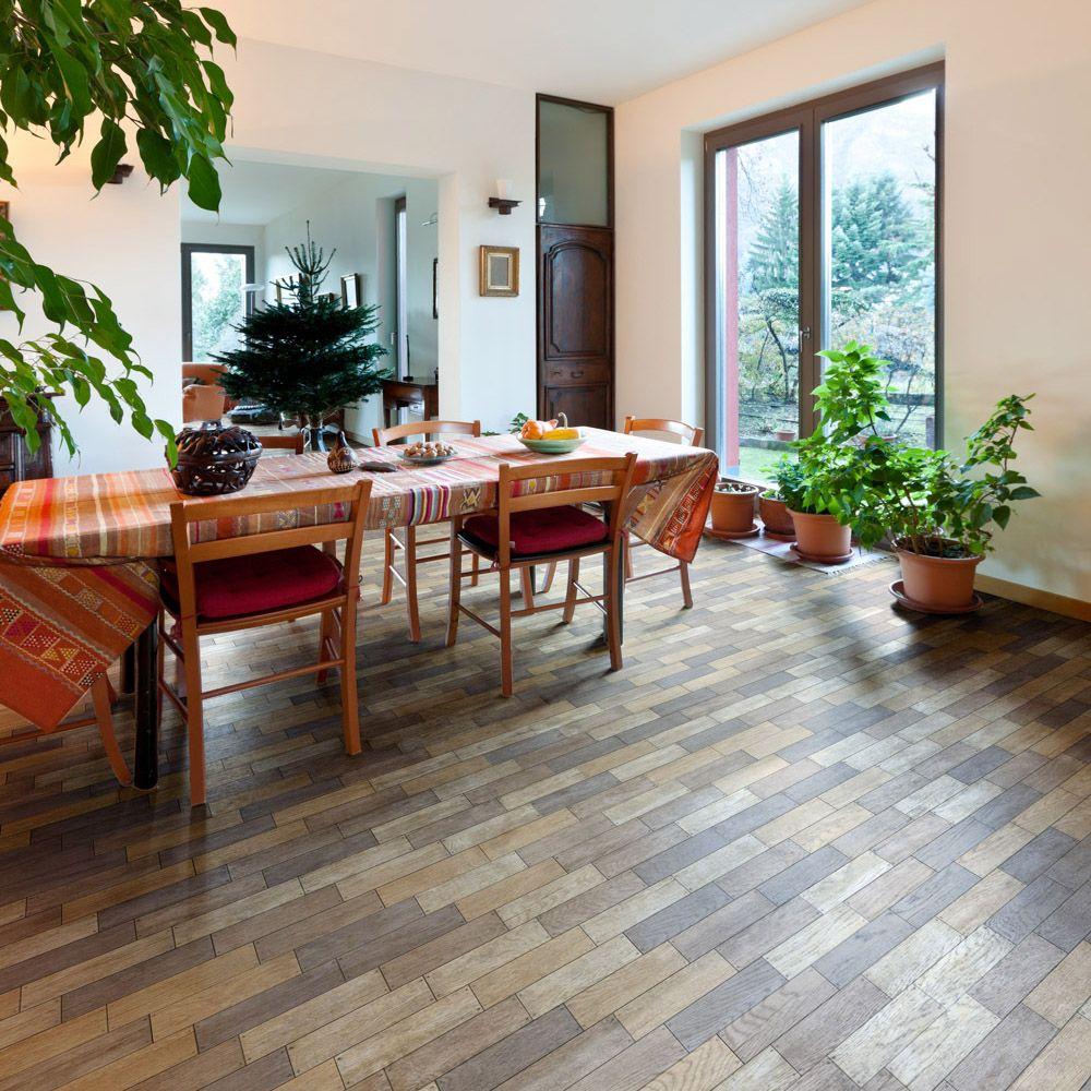 Baldosa de gres de pasta roja para pavimento medida de 8x33 3 con textura mate pavimento de - Medidas de baldosas ...