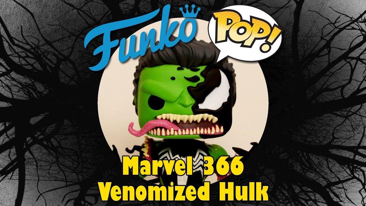 Venomized Hulk Funko Pop unboxing Funko, Marvel, Funko pop