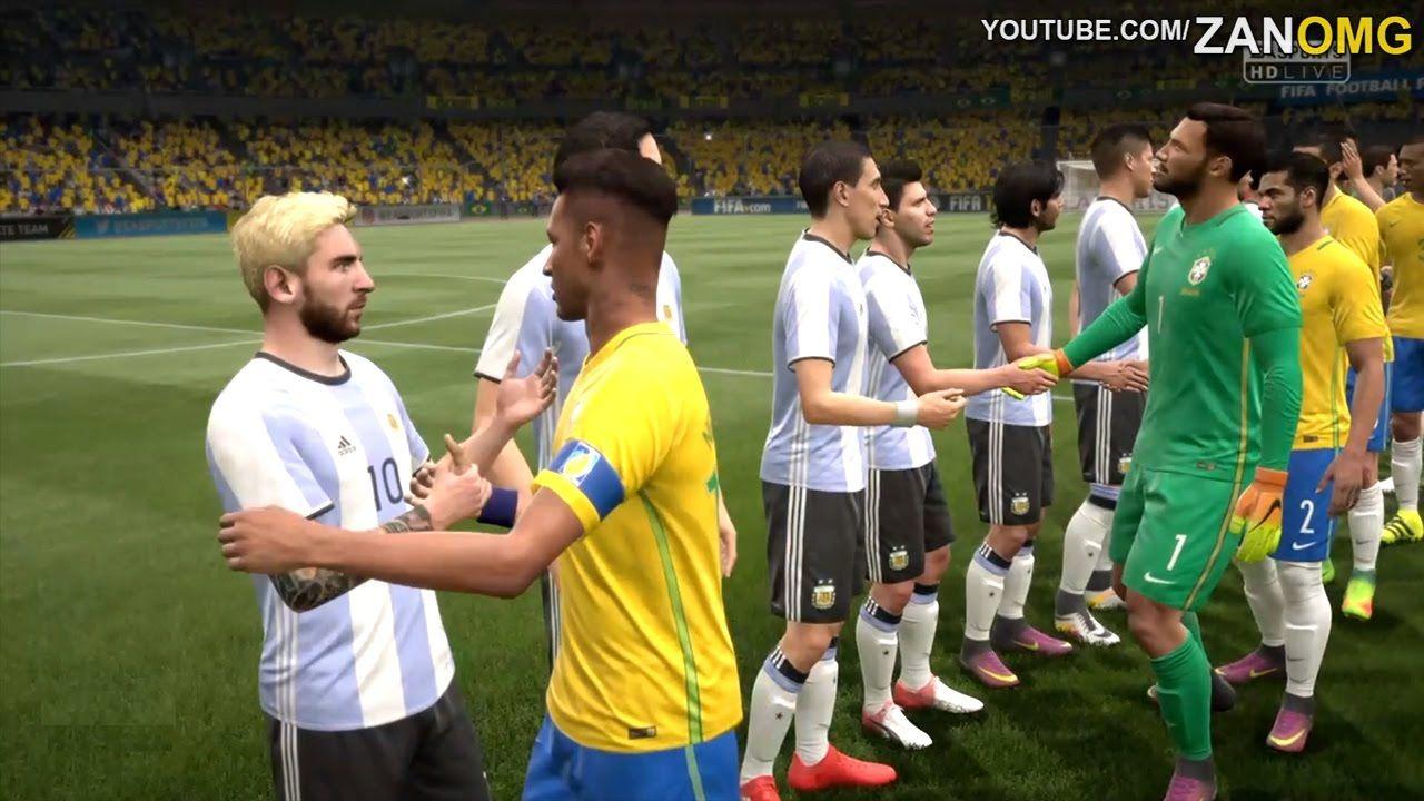 Brazil vs argentina russia world cup 2018 full match gameplay brazil vs argentina russia world cup 2018 full match gameplay fifa 17 hd voltagebd Image collections