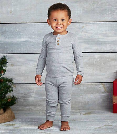 Kids Henley Pajama Set - Burts Bees Baby | holiday | Pinterest ...
