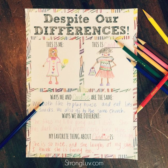 Looking for a creative way to teach kids about diversity