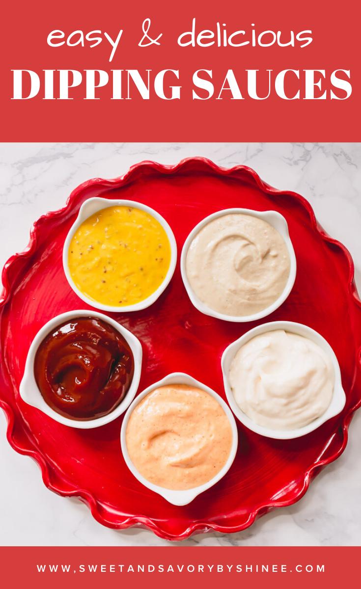 5 Delicious Dipping Sauce Recipes Recipe Dipping Sauce Recipes Sauce Recipes