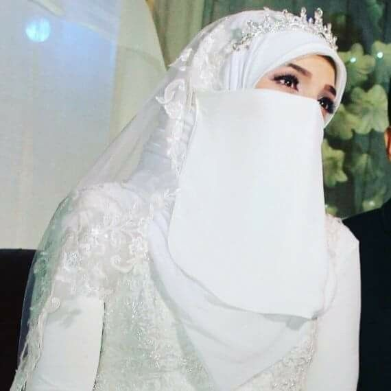 Niqab muslim wedding What's the