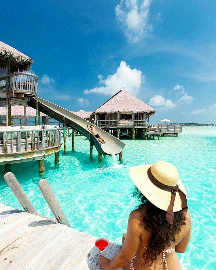 Island Beach People: Gili Lankanfushi Island Resort
