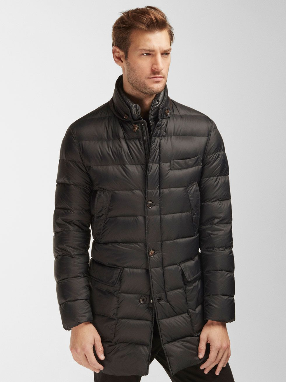 e07425246f Autumn winter 2016 MEN´s LIGHTWEIGHT QUILTED FEATHER DOWN 3/4 COAT at  Massimo Dutti for 54995. Effortless elegance!