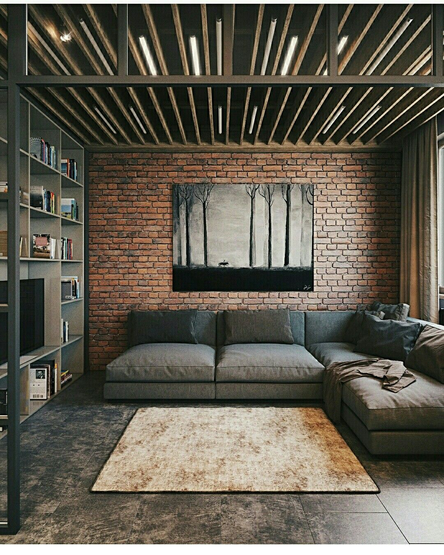 Pin By Elisabeth Rosalina On Loft Industrial Bedroom Design Dining Room Industrial Loft Design