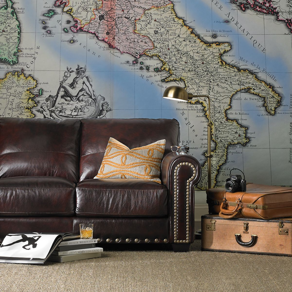 No matter your home's current style, leather furniture can add a timeless, homey, and even a luxurious twist to your décor. The Dump Sofas Null Brown Leather Couch Living Room ...