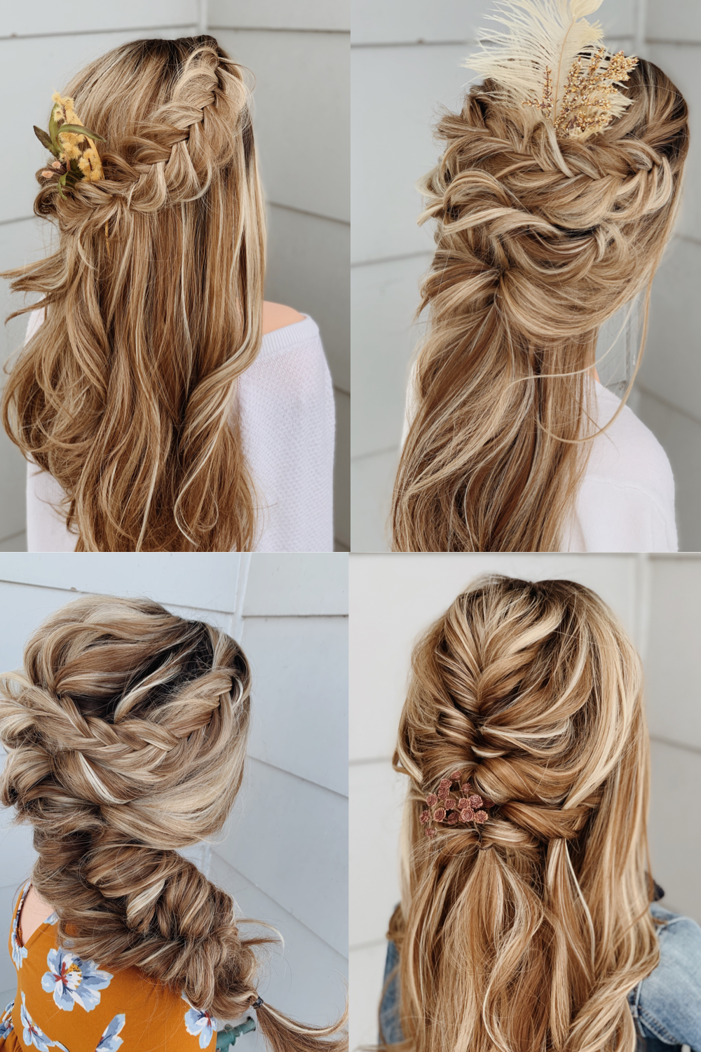 Gorgeous Boho Bridal Hairstyles Perfect For 2020 2021 Weddings In 2020 Hair Styles Artistic Hair Wedding Hairstyles For Long Hair
