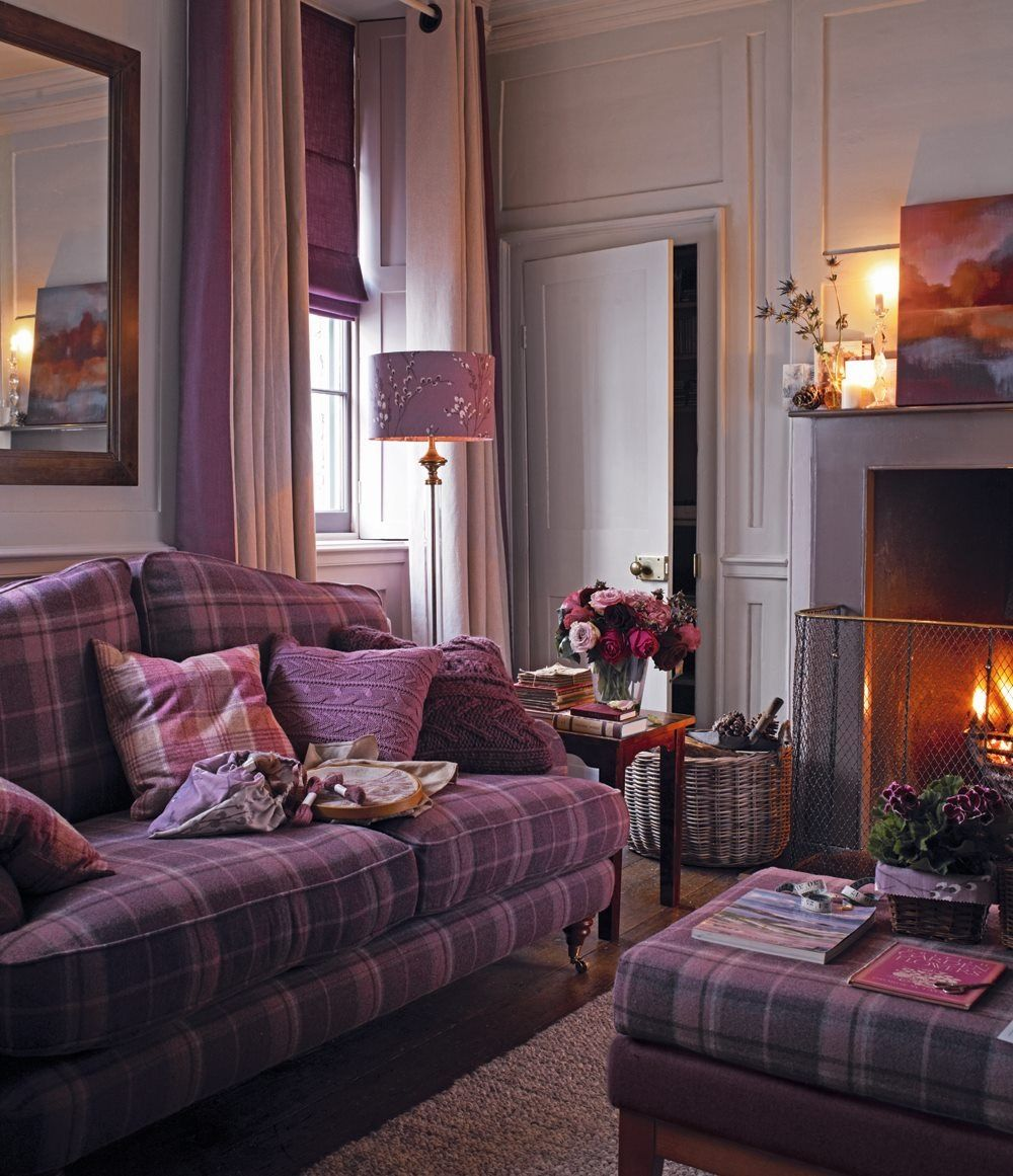 Best Amerthyst Coloured Sitting Room Purple Living Room 400 x 300