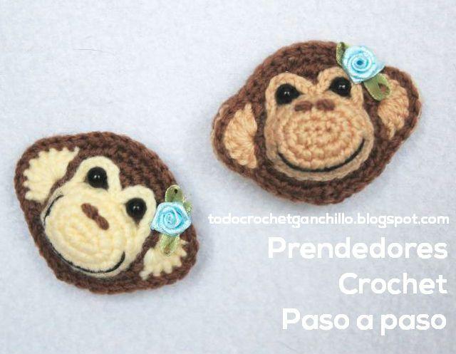 Todo crochet | amigurumis | Pinterest | Crochet fácil, Prendedor y ...