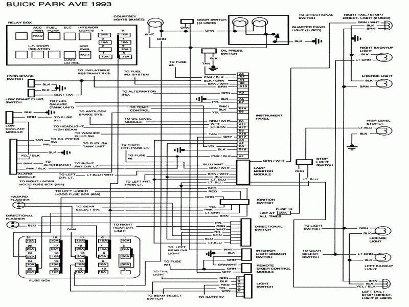 2000 Buick Lesabre Wiring Diagram 3 Wiring Diagram Pdf