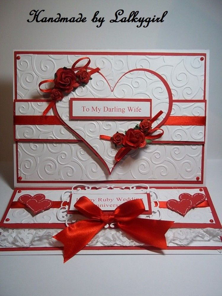 Image detail for -ruby wedding card - Card Making - Wedding | Cards ...