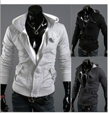 Assassin's Creed Naruto Desmond Miles Cosplay Costume Hoodie Coat Jacket -