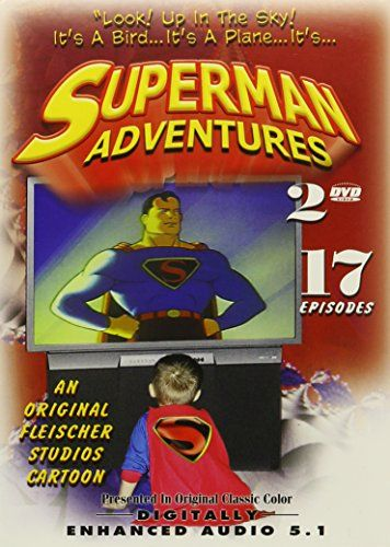 Superman Adventures: Look! Up in the Sky! Its a Bird...Its a Plane... Its Superman! @ niftywarehouse.com #NiftyWarehouse #Superman #DC #Comics #ComicBooks