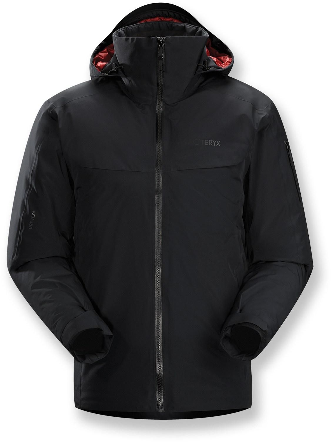 You Ll Never Suffer Through Another Bone Chilling Chairlift Ride With The Men S Arc Teryx Macai Insulated Jacket I Mens Jackets Mens Insulated Jackets Jackets