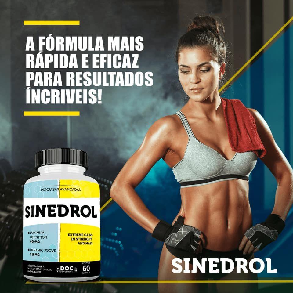 sinedrol tem contra indicação