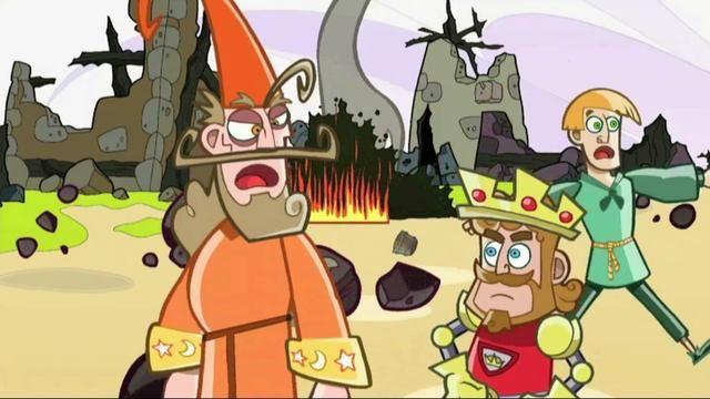 King Arthur's Disasters (tv show) :P King Arthur, Merlin ...