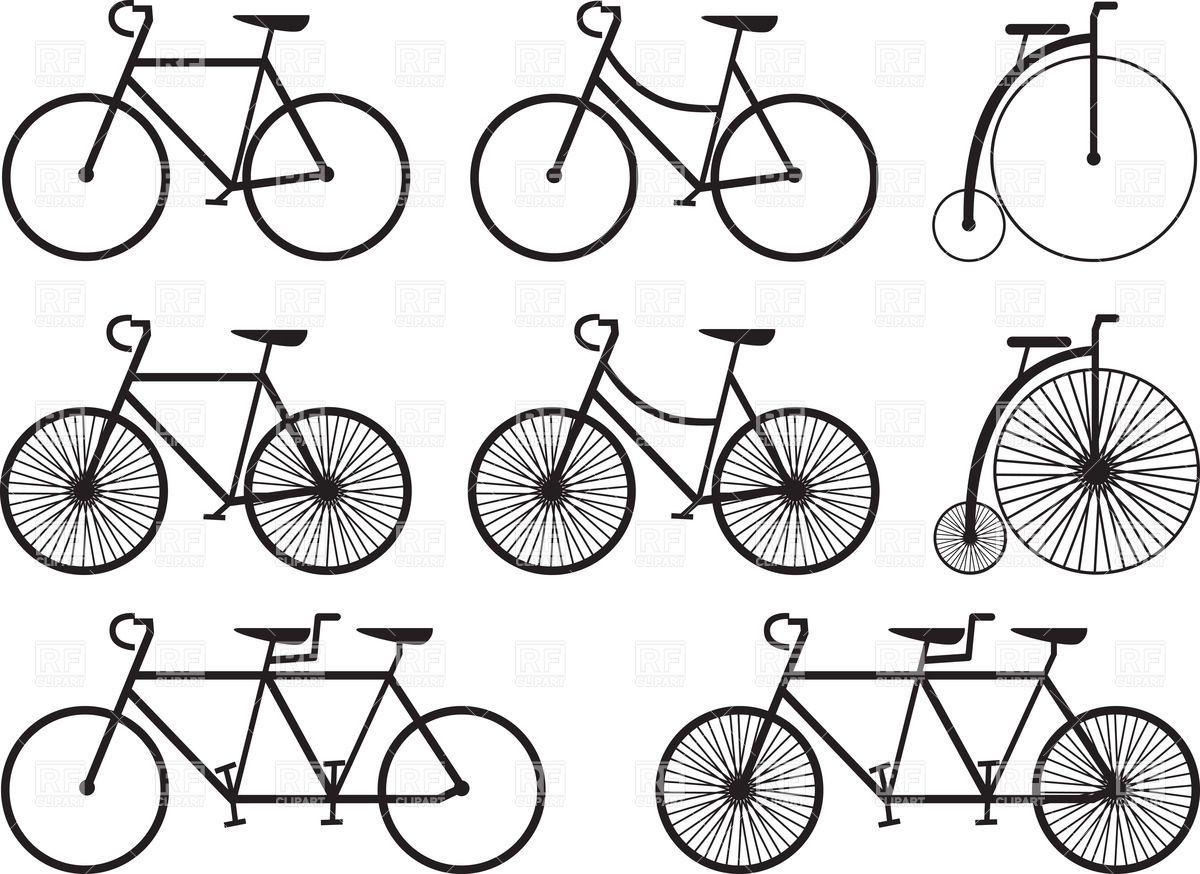 Clipart Tandem Bike