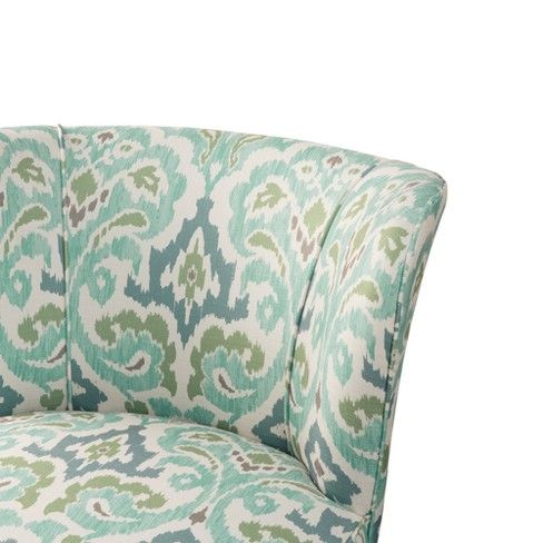 Best Bally Armless Accent Chair Blue Green Blue Accent Chairs 400 x 300