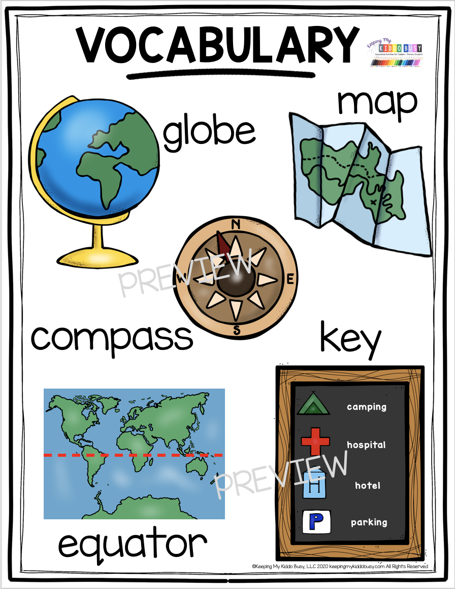 All About Planet Earth Free Activities Keeping My Kiddo Busy In 2021 Kindergarten Social Studies Activities Kindergarten Activities Map Activities [ 1158 x 896 Pixel ]