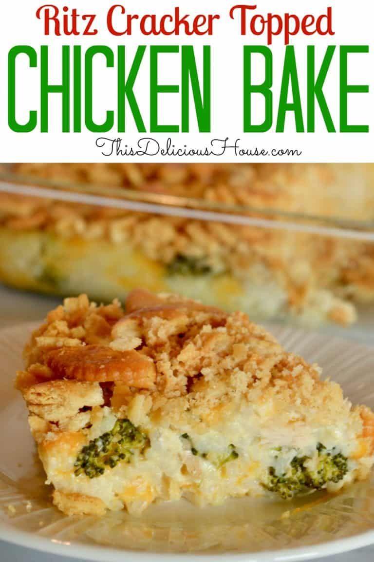Chicken broccoli rice ritz casserole recipe ritz