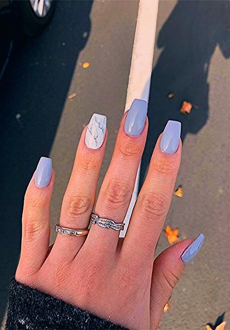 Photo of Short Coffin Nails