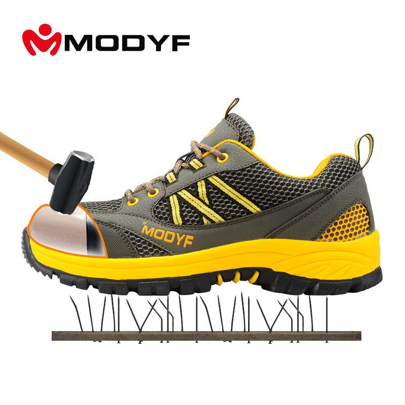 Work & Safety Boots Back To Search Resultsshoes Modyf Men Steel Toe Cap Work Safety Shoes Outdoor Ankle Boots Fashion Puncture Proof Footwear Online Shop