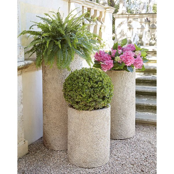 Verdun Large Planter ($370) Found On Polyvore Featuring Home, Outdoors,  Outdoor Decor