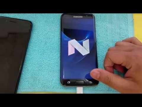 Remove Google Account FRP Samsung Galaxy S7 Edge Android 7