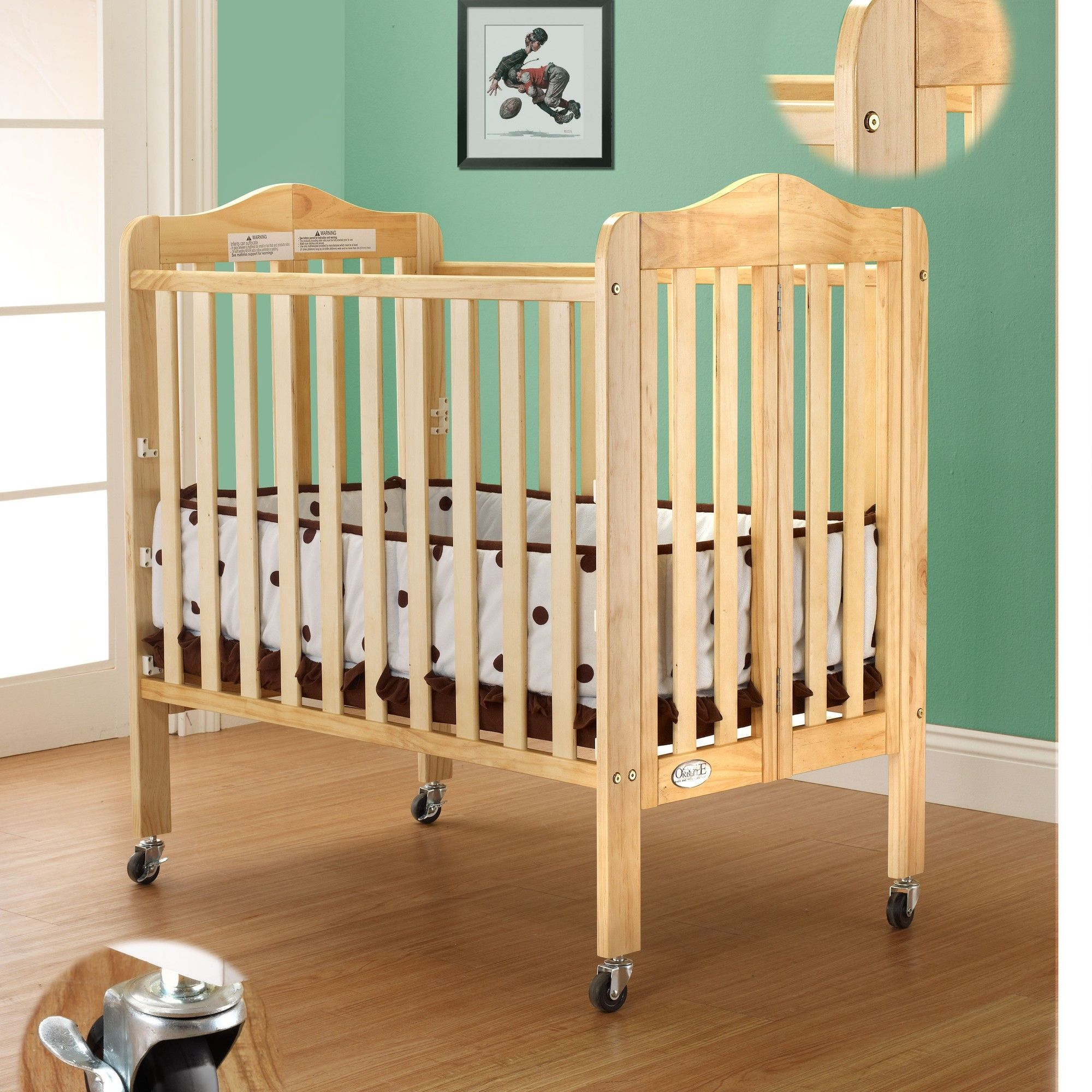 Gocrib adventure crib for sale - Aden 4 In 1 Mini Convertible Crib