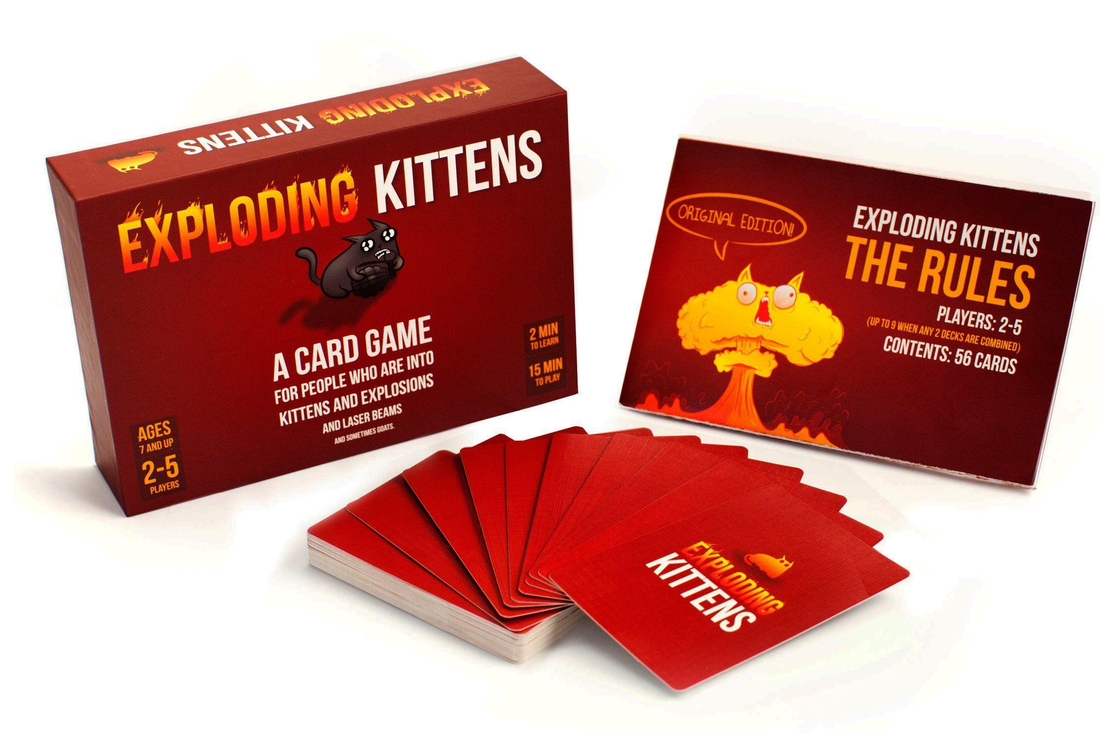 Robot Check Exploding Kittens Card Game Exploding Kittens Card