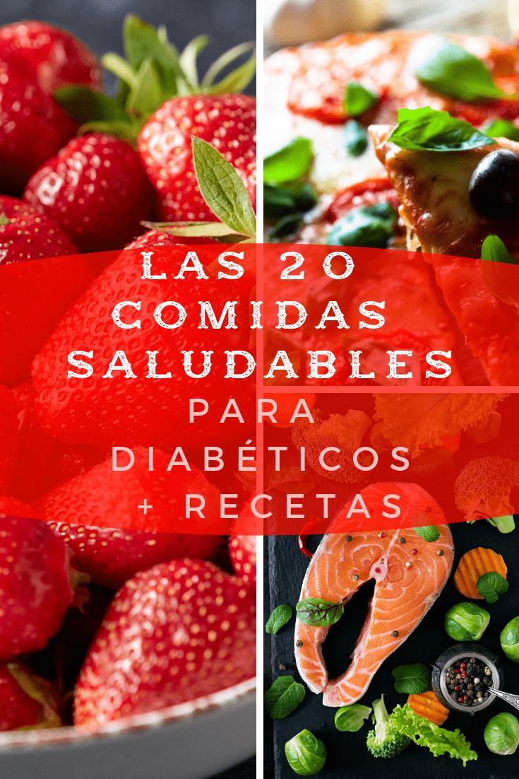 comidas saludables para diabeticos recetas