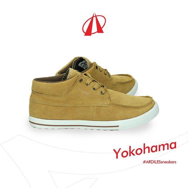Leher Tinggi Sneakers Yokohama Akan Adalah Proteksi Bagi Ankle