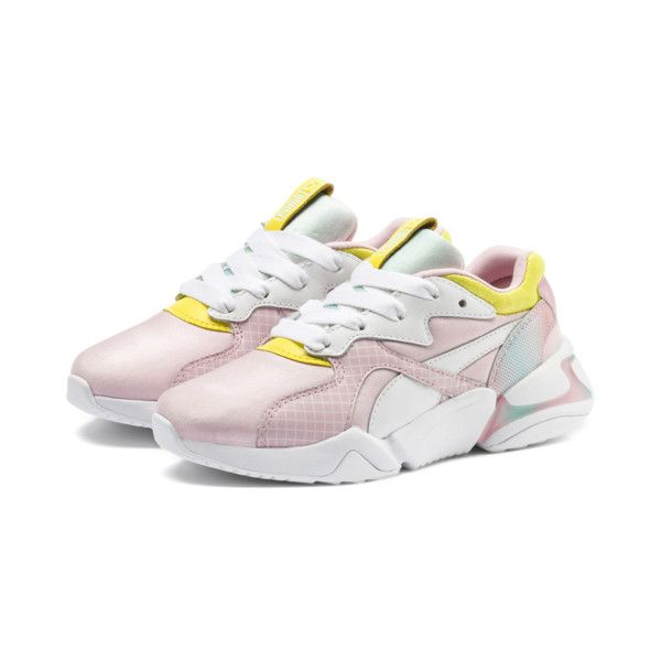 9a5ca09466 Nova x Barbie Sneakers PS | Orchid Pink-Puma White | PUMA Girls Preschool  5-7 Years | PUMA United States