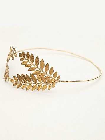 Queen Of The Forest Fern Leaf Crown