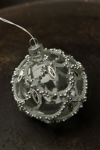 Decorative Glass Hanging Bauble