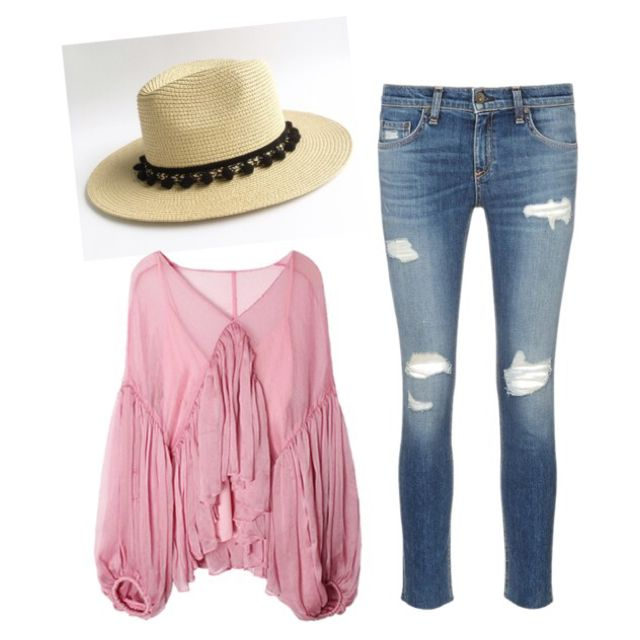 de678b90c56 Bag · How to wear a sun hat